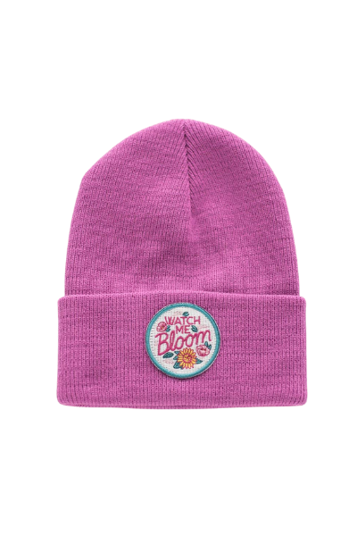 WATCH ME BLOOM BEANIE