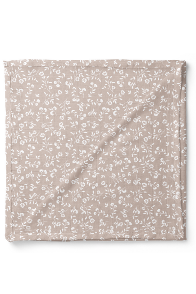 WILD FLOWER SWADDLE - TAUPE