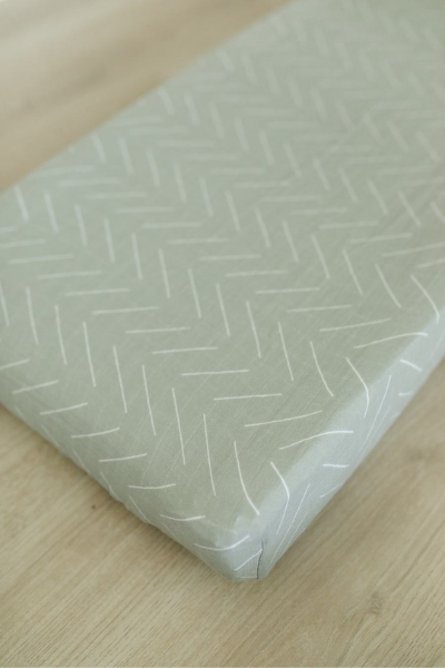 DESERT SAGE CHANGING PAD COVER