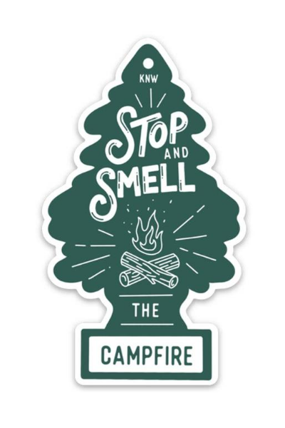 CAMPFIRE FRESH STICKER