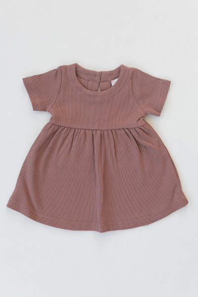 PRAIRIE DRESS - DUSTY ROSE