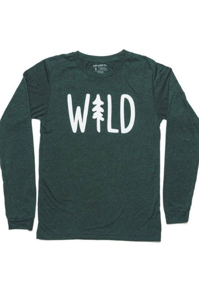 WILD LONG SLEEVE - EMERALD