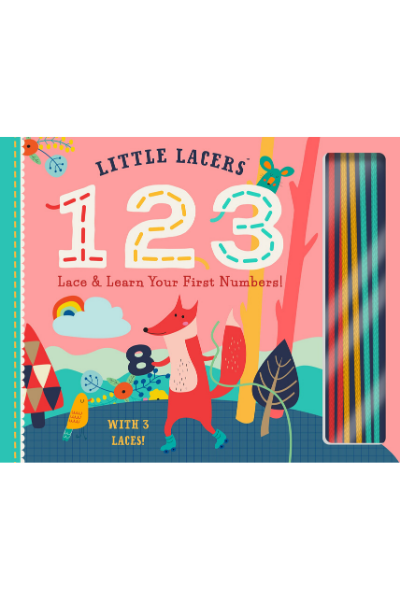 LITTLE LACERS 123 BOOK