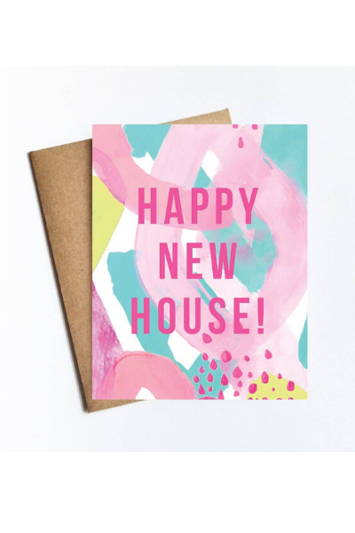CONGRATULATIONS - HAPPY NEW HOUSE CARD
