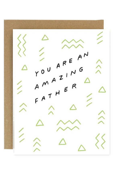 AMAZING FATHER CARD