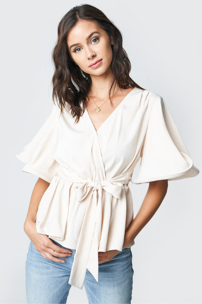 SAVANNAH WRAP TOP