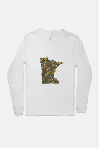 BLOOMING MN LONG SLEEVE