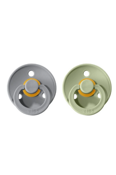 BIBS PACIFIER (2 PACK) - SAGE + CLOUD