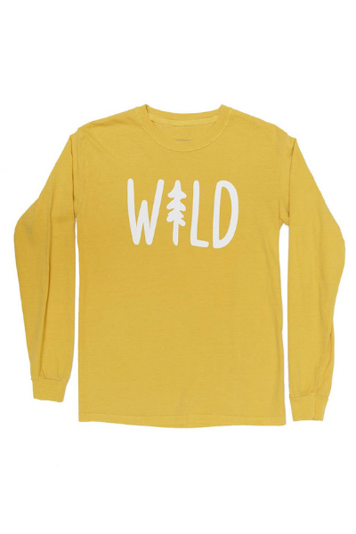 WILD PINE LONG SLEEVE | SUNSHINE