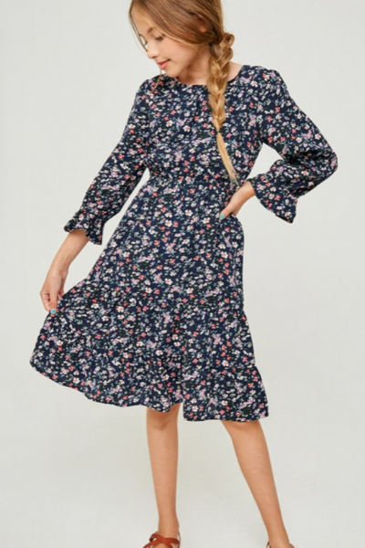 LUCY FLORAL DRESS - GIRLS