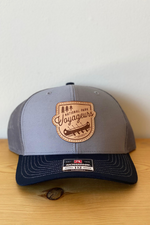 VOYAGE SNAPBACK - GREY + CHARCOAL + NAVY