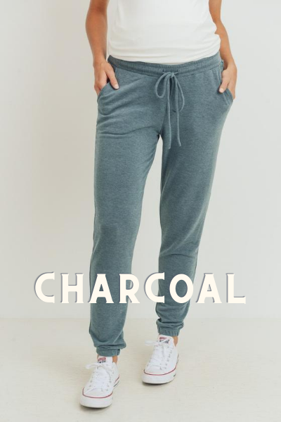 KENZIE SWEATPANTS - CHARCOAL
