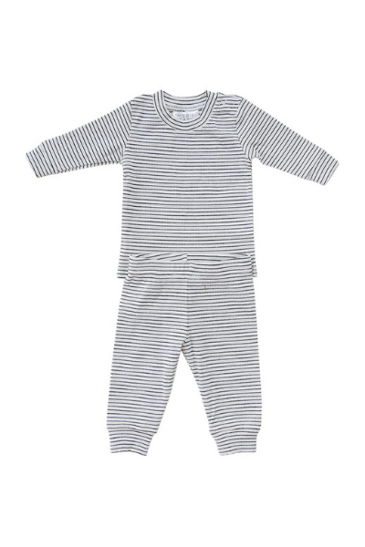 CEDAR STRIPE SET - BLACK + WHITE