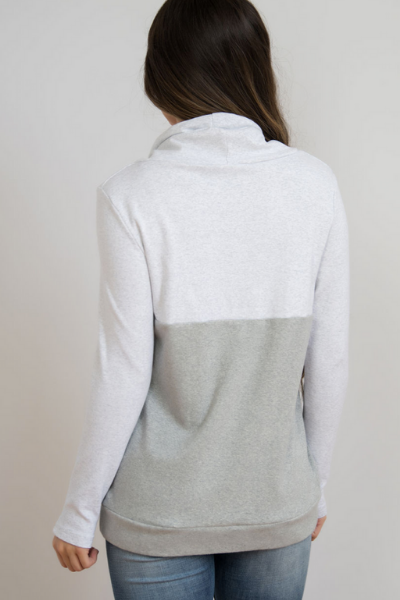 HEATHER NURSING SWEATSHIRT