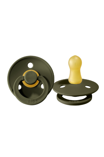 BIBS PACIFIER (2 PACK) - HUNTER GREEN