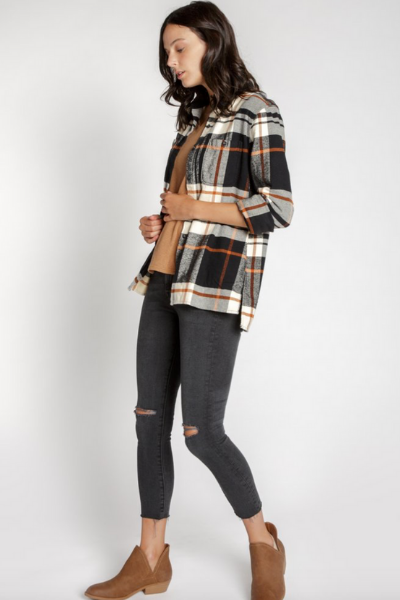 MILA FLANNEL SHIRT