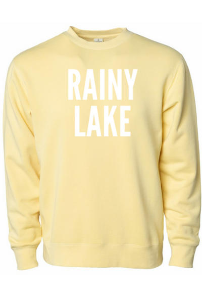 RAINY LAKE CREW - YELLOW