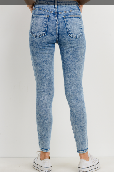 MANON ACID WASH SKINNY