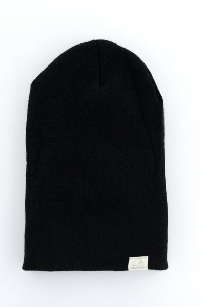 SEASLOPE YOUTH/ADULT BEANIE - BLACK