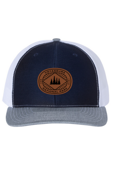 VNP SNAPBACK - NAVY/WHITE/GREY