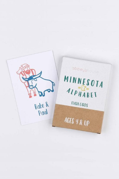 MN ALPHABET FLASH CARDS
