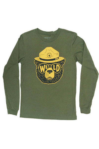 WILDBEAR LONG SLEEVE | OLIVE