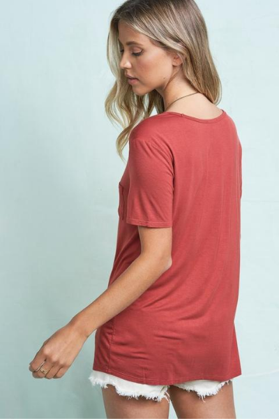 LANEY TEE - MARSALA