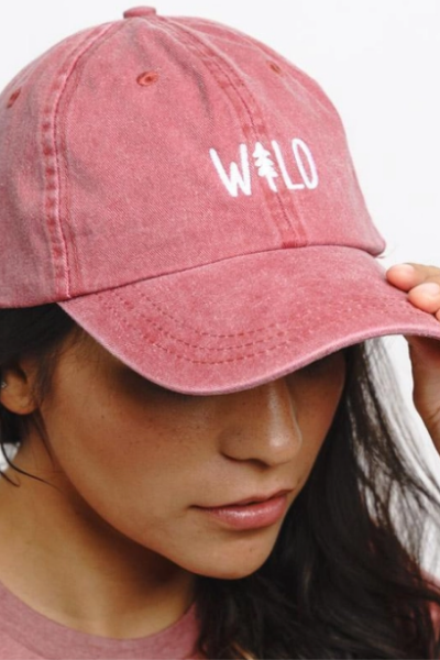 WILD PINE HAT - BERRY