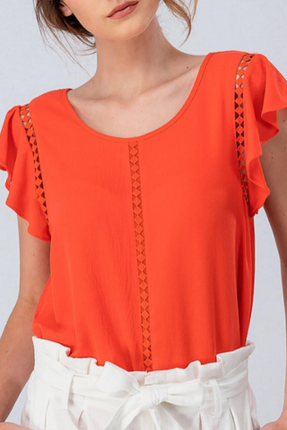 BAILEY TIE TOP