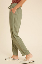 CATHERINE PANTS - OLIVE