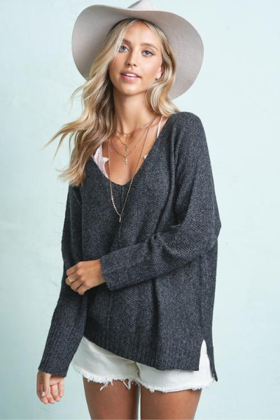BLAKE SWEATER - BLACK