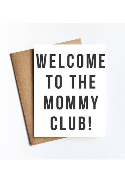 MOMMY CLUB CARD