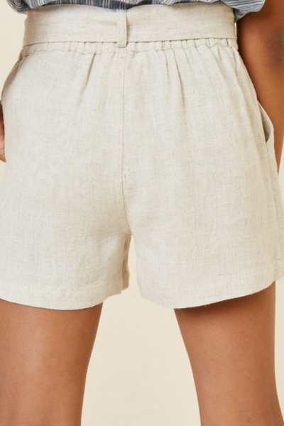 JUBILEE LINEN SHORTS - GIRLS