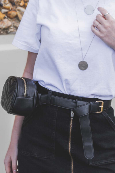 RARA BELT BAG - BLACK
