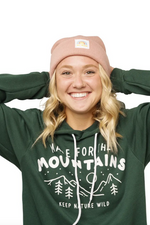 BE WILD BEANIE - ROSE