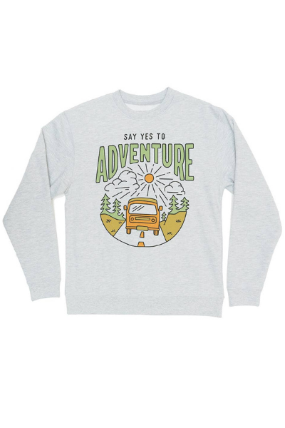 SAY YES TO ADVENTURE PULLOVER