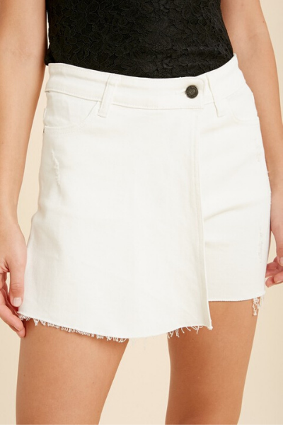 SHANDY SKORT - WHITE (small - large)