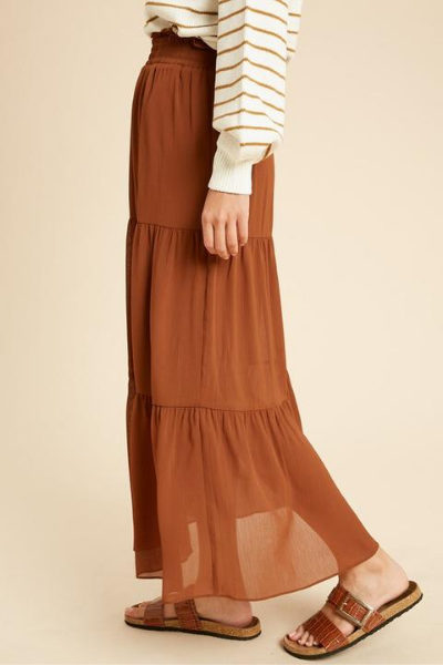 GOLDIE MAXI SKIRT