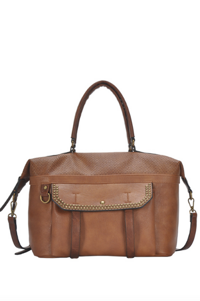 SALONO SATCHEL (TAN)