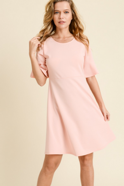 KAI BLUSH DRESS