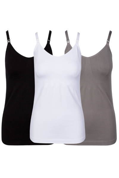 NURSING TANK - BLACK