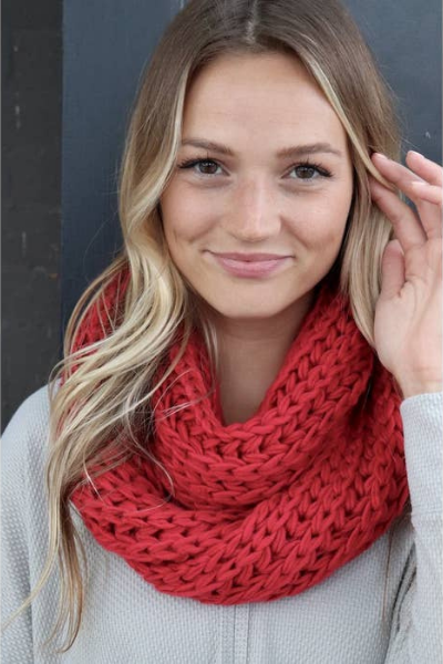 JENS SCARF - RED