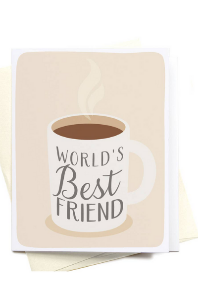 FRIEND - WORLD'S BEST FRIEND