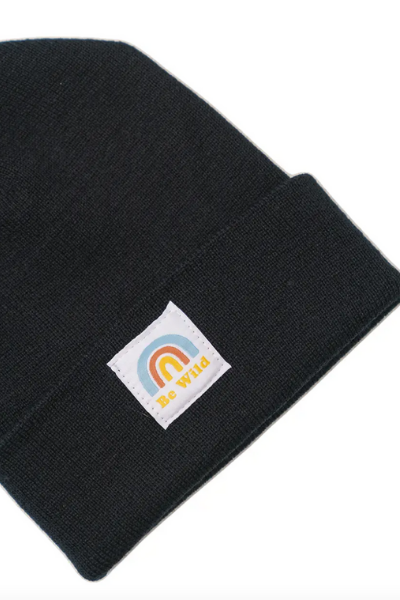 BE WILD BEANIE - BLACK