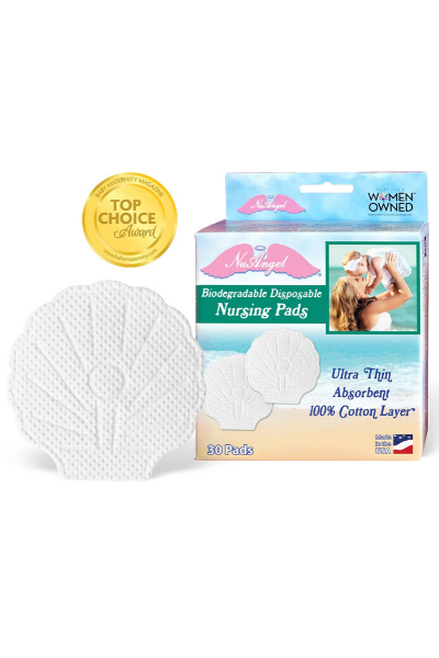 BIODEGRADABLE NURSING PADS, 30 COUNT