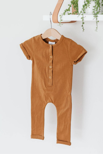 HENRY ROMPER - BUTTERSCOTCH