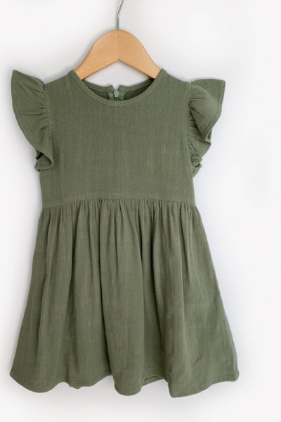 RIVER DRESS - GREEN