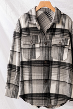 BRANSON FLANNEL - BLACK