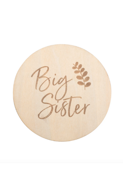 BIG SISTER - MILESTONE DISC
