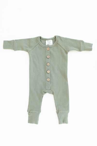 MAPLE ROMPER - GREEN